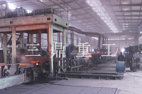 帶鋼連軋生產線
